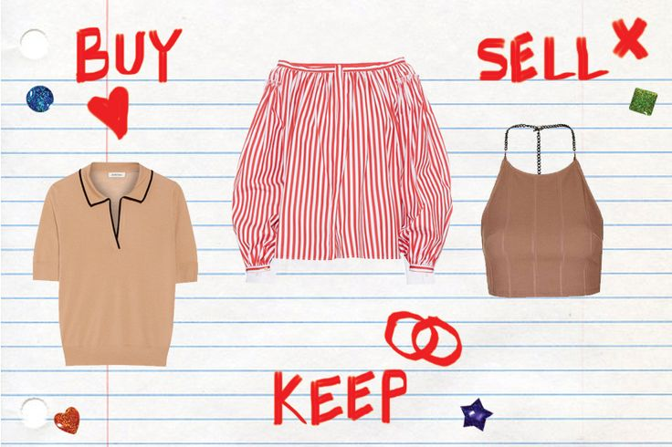 When if comes to spring clothes, look no further than this guide of what to buy, keep and sell.