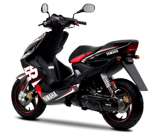 2011 Yamaha Aerox SP55 Black Red White Back Picture