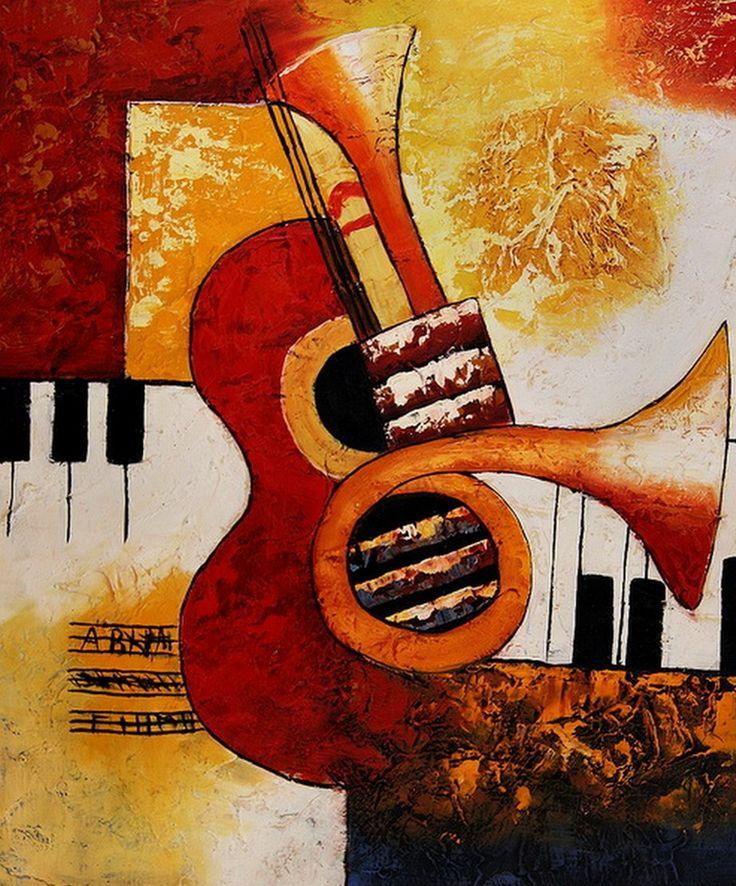 Resultado de imagen para cuadros decorativos musicales