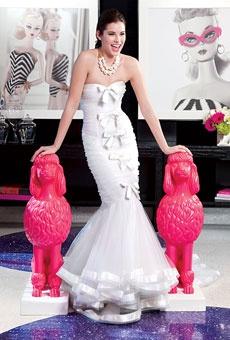 Brides: Girly, Glamorous Wedding Dresses | Wedding Dresses and Style | Brides.com