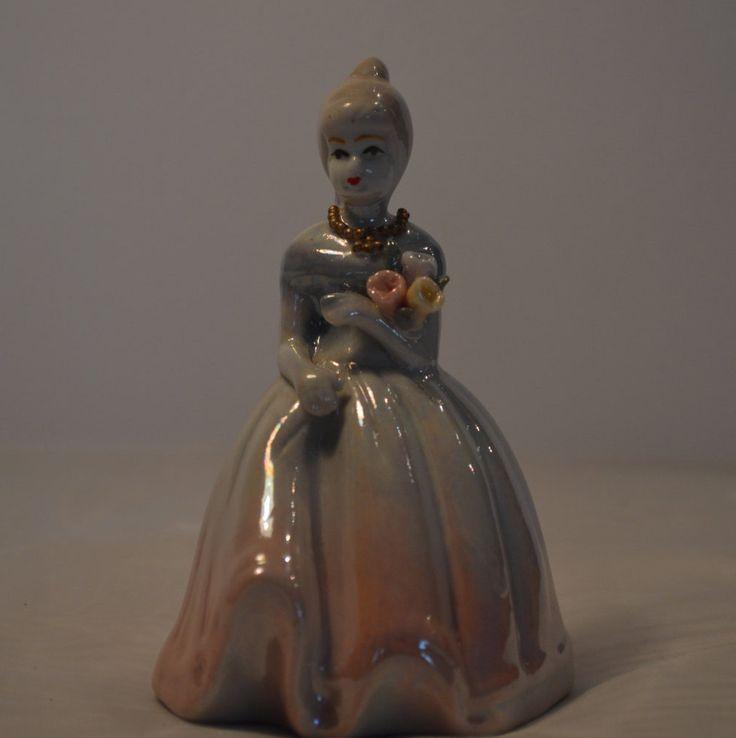 Vintage Porcelain Lady figurine by KrisztinaVintage on Etsy