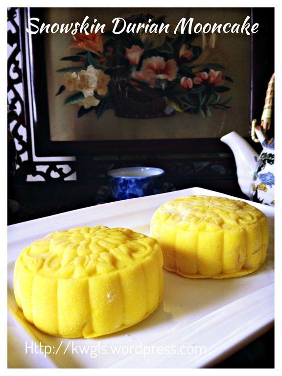Durian Ice Cream Snowskin Mooncake