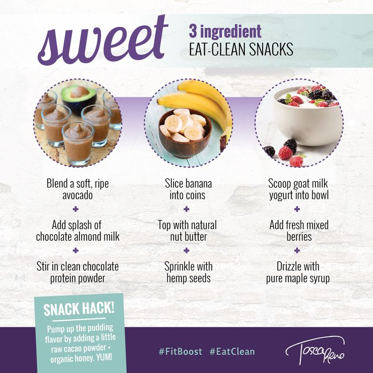 Easy, three ingredient #EatClean snack #Recipes ready to satisfy a quick afternoon #craving #snack #snacks #eatingclean #cleaneating #eatcleandiet #avocado #chocolate #banana #yogurt #sweetsnack #idea #ideas #inspiration