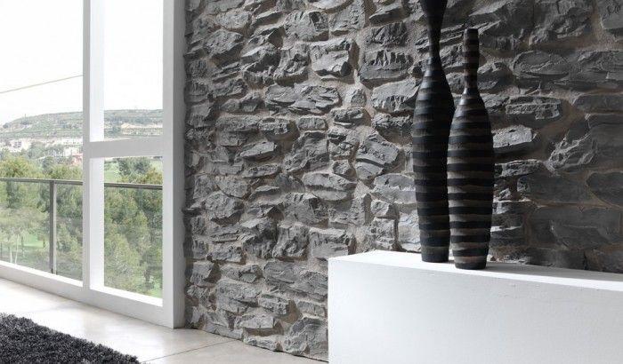 Pirineos - Pannelli murali modulari PanelPiedra in pietra ricostruita riproducono in modo assolutamente realistico superfici in pietra, marmo, ardesia, mattoni, ecc.