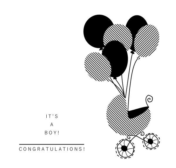 IT'S A BOY! DESIGN BY ME