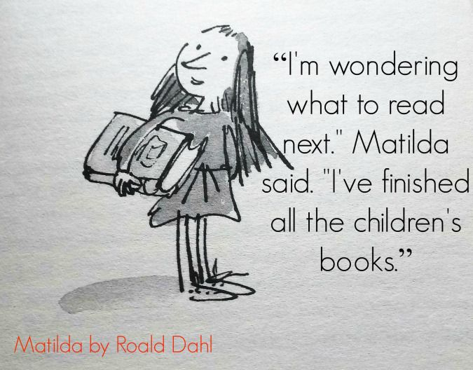 matilda want and book What's the difference between matilda the book and matilda the movie  in the  film, matilda breaks into the trunchbull's home twice while matilda and.