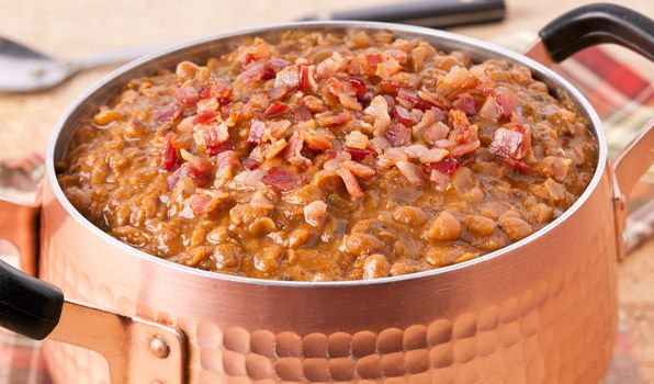 Boston Baked Beans - In the Kitchen with Stefano Faita - VVF Notes: only use 3 cups of water and omit bacon.