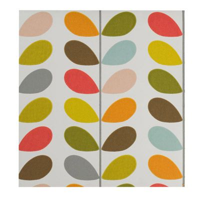 Multi Stem Wallpaper by Orla Kiely: Just think what fun DIY projects you could do with this. $90/roll.  #Wallpaper #Orla_Kiely