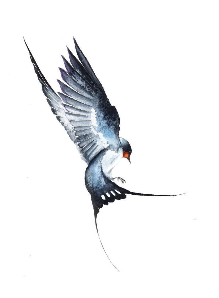 Bunte Zeichnungen vom inspirierenden Künstler durch fliegende Vögel – #bunte #… – Gamze