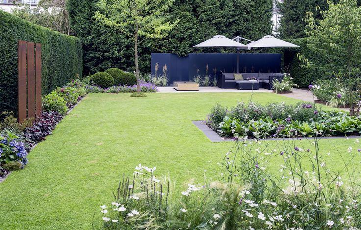 Moderne Gartenarchitektur Düsseldorf