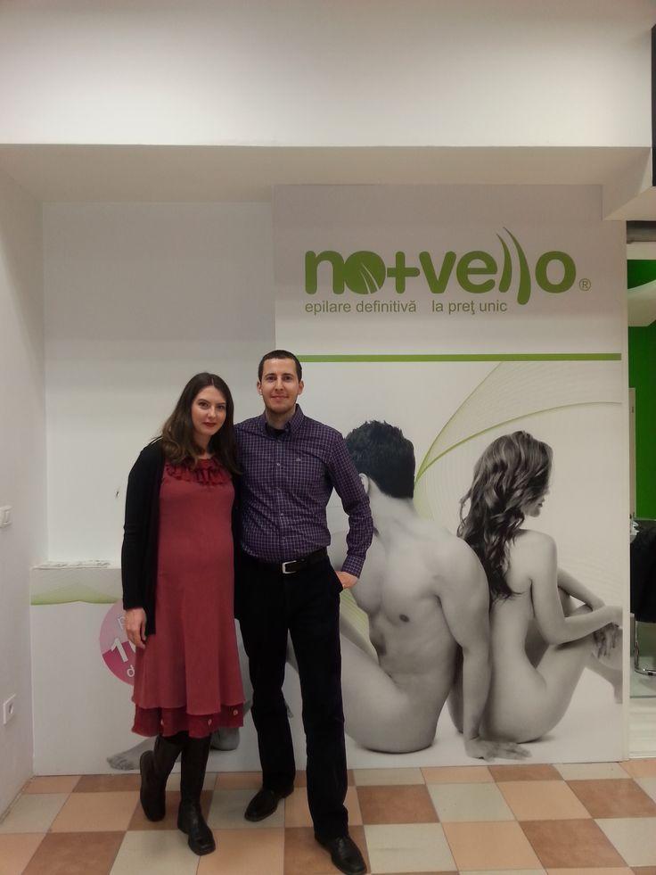 Bianca si Alex coordoneaza centrul Nomasvello BEGA din Timisoara, punand la dispozitia clientilor servicii de epilare definitiva si rejuvenare cu IPL, alaturi de tehnologia ProSkin pentru curatare faciala in profunzime, Detalii: http://bit.ly/1M66qIQ