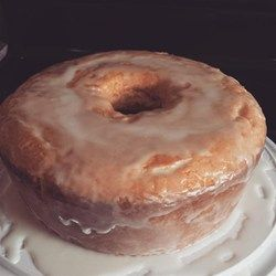 Lemon-Buttermilk Pound Cake with Aunt Evelyn's Lemon Glaze - Allrecipes.com