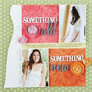 Oohhhhhh nice: Scrapbook Ideas, Layout Ideas, Craft, Weddings, Scrapbooking Ideas, Wedding Scrapbook Layouts, Wedding Album, Scrapbooking Layouts