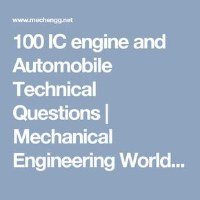 Top Best Mechanical Engineering Projects Ideas On Pinterest