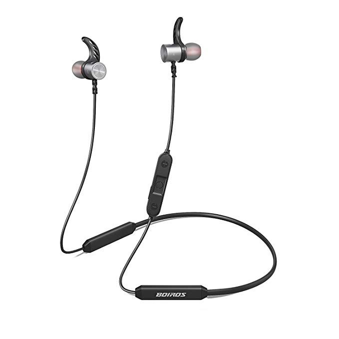 Bluetooth headphones sport, In-Ear Wireless Earbuds with Mic