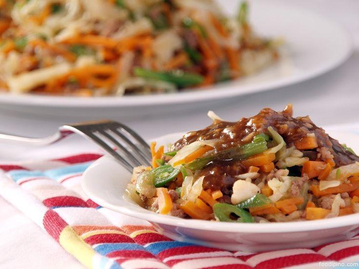 28 best filipino new years food images on pinterest filipino lumpiang hubad naked spring rolls forumfinder Choice Image