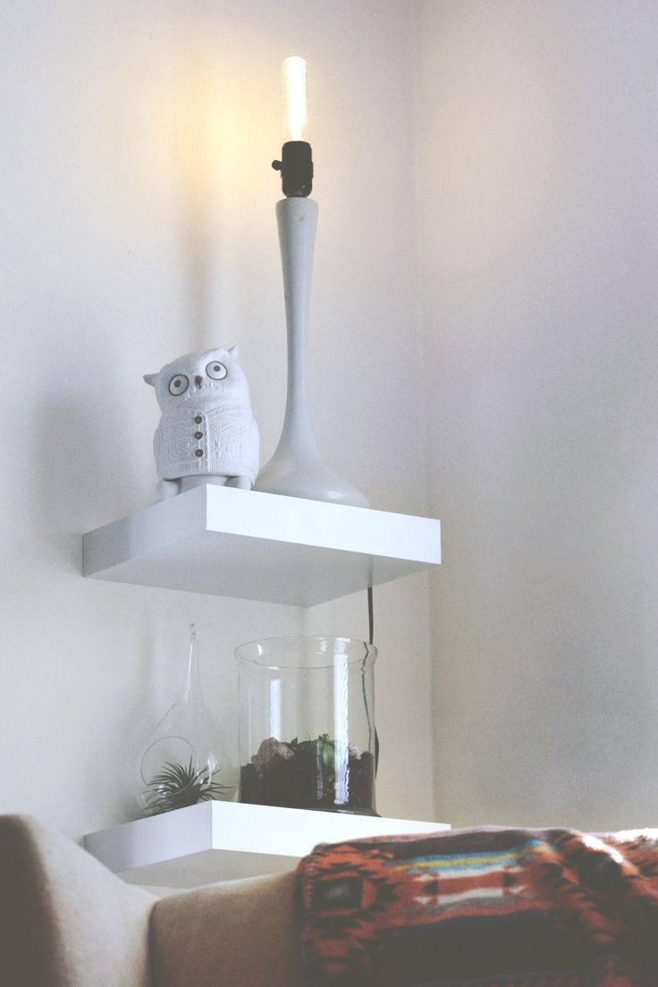 13 best Floating shelves images on Pinterest | Para el hogar ...