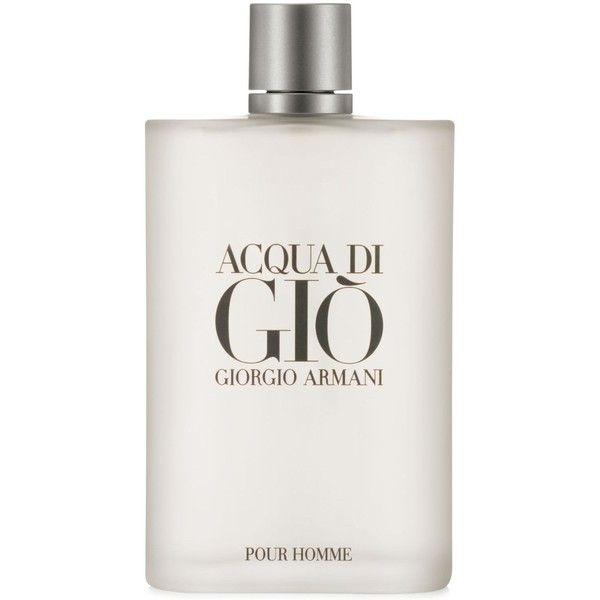 Giorgio Armani Acqua di Gio Eau de Toilette Spray, 6.7 oz (348.005 COP) ❤ liked on Polyvore featuring men's fashion, men's grooming, men's fragrance, no color and giorgio armani