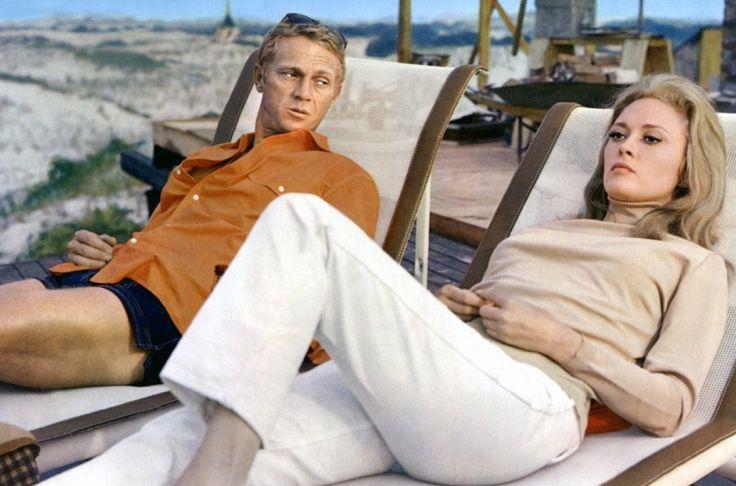 Beachy Days Are Coming. Steve McQueen and Faye Dunaway, Crane Beach, Ipswich, 1968.