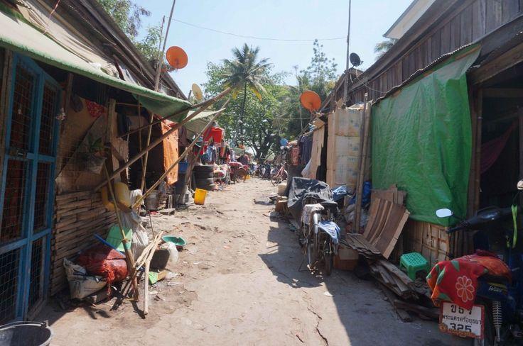 dans les rues de Myawaddy