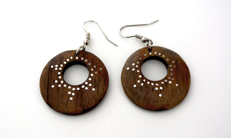 Halmahera Earrings from www.kurakura.co.za