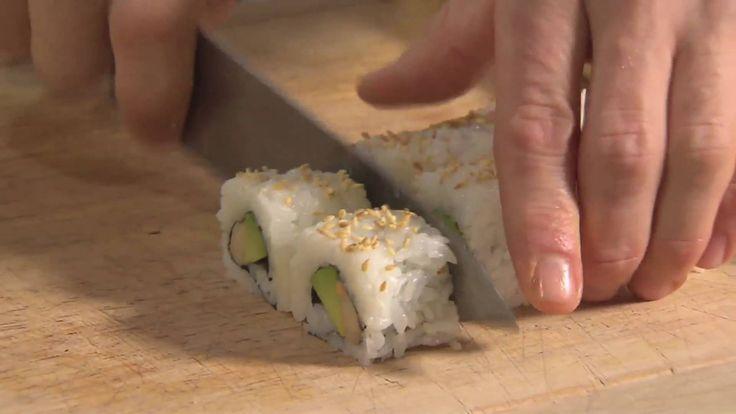 Få inspirasjon til å lage sushi hjemme