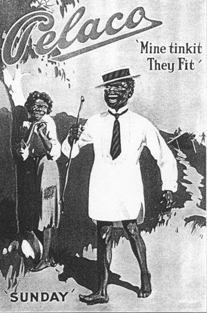 Grumpy Old Journo: While we're arguing about blackface . . .old ad for Pelaco shirts. You couldn't get away with it nowadays.
