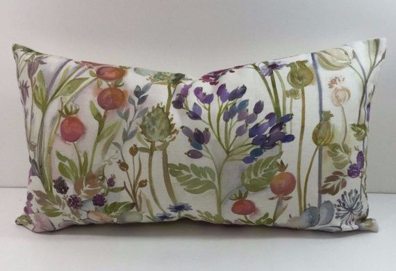 Voyage  Hedgerow Fabric Cream    Cushion Covers  Pillow