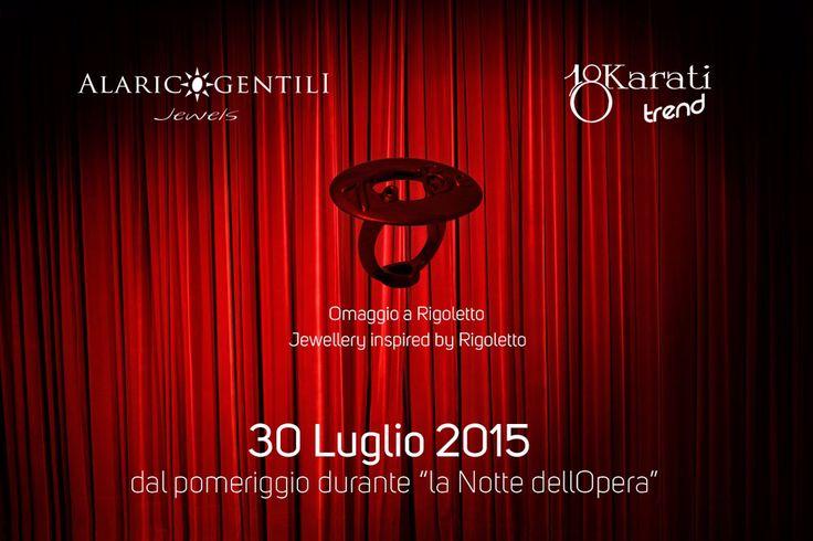 Omaggio a Rigoletto!!! Jewellery inspired by Rigoletto