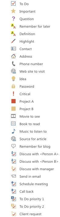 Productivity for Creatives - Bullet Journal on OneNote