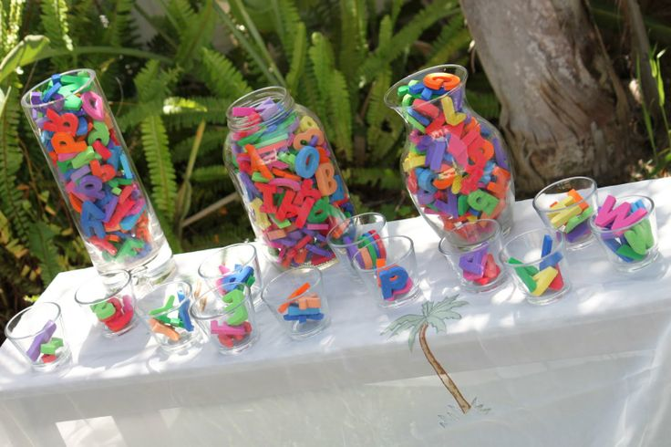 Abc Party Favors: 1000+ Ideas About Alphabet Birthday Parties On Pinterest