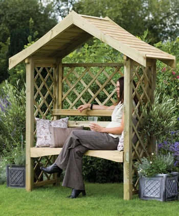 Forestgarden.co.uk - Sienna Arbour
