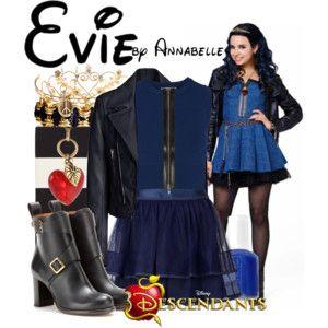 Evie halloween costume large