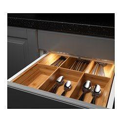 """OMLOPP LED light strip for drawers, aluminum color Luminous flux: 65 Lumen Length: 14 """" Width: 1 """" Luminous flux: 65 Lumen Length: 34.3 cm Width: 2.5 cm"""