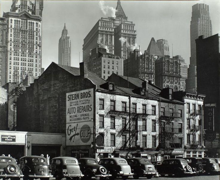 Vista from West Street, 115-119 West Street, Manhattan. (March 23, 1938). NYPL Digital Gallery.