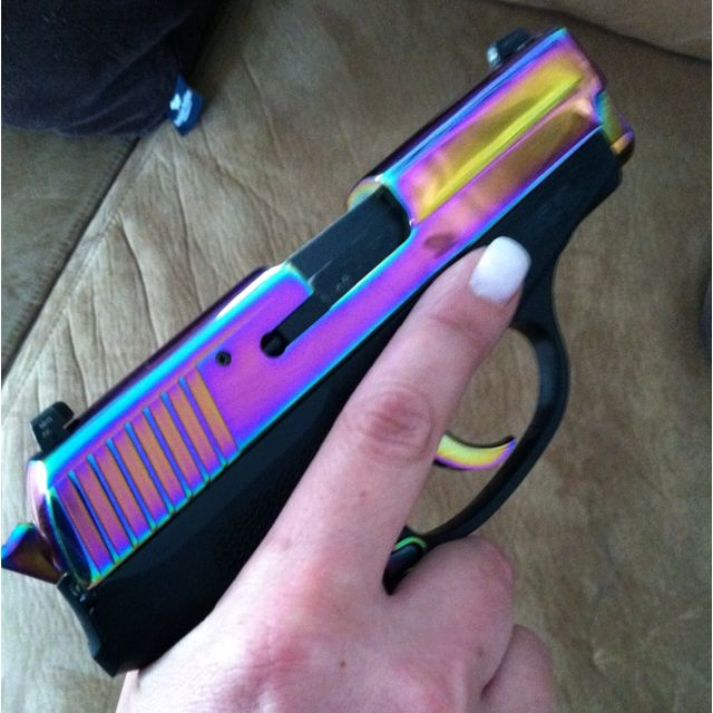 My off-duty weapon! Sig Sauer P239 Rainbow :)