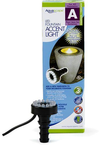 Aquascape 84008 Led Fountain Light Aquascape Water Lights Deep