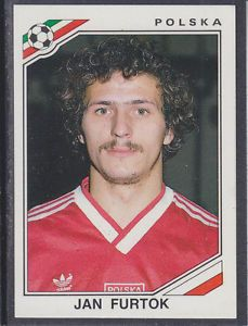 Image result for mexico 86 panini poland furtok