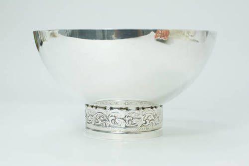 Sterling -Silver- Small- Bowl- Hans -Jensen -1900 -c -Denmark 4 - Copy