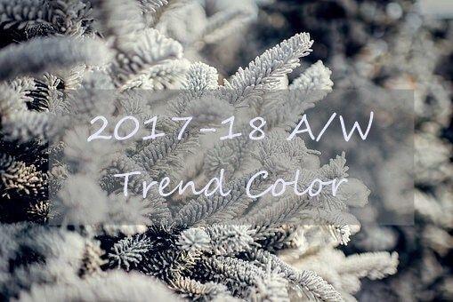 2017-2018秋冬トレンドカラーを先取り予想! | lansfactory