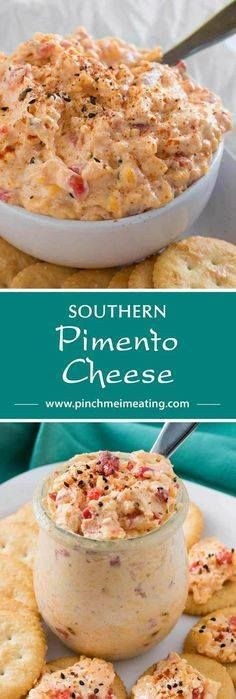 With ample seasoning With ample seasonings and just a little kick creamy Southern pimento cheese is great with everything from crackers or burgers to crab cakes or grits! This cheddar cheese spread also makes a great cold party appetizer dip that doesnt require the oven. Recipe : http://ift.tt/1hGiZgA And @ItsNutella  http://ift.tt/2v8iUYW  With ample seasoning With ample seasonings and just a little...