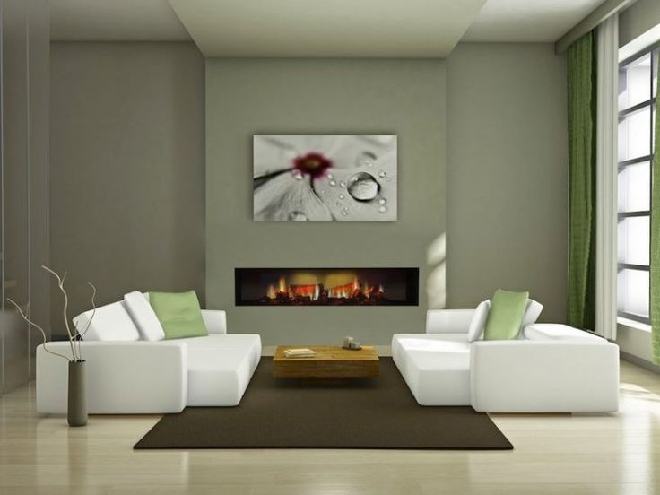 Living Room Electric Fireplace  - Plus and Minus in Using Electric Fireplace