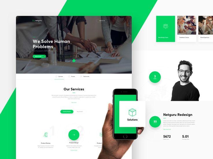 Netguru Redesign - Product Design by Michal Parulski