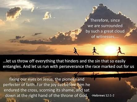 hebrews 12 1-2 - Google Search