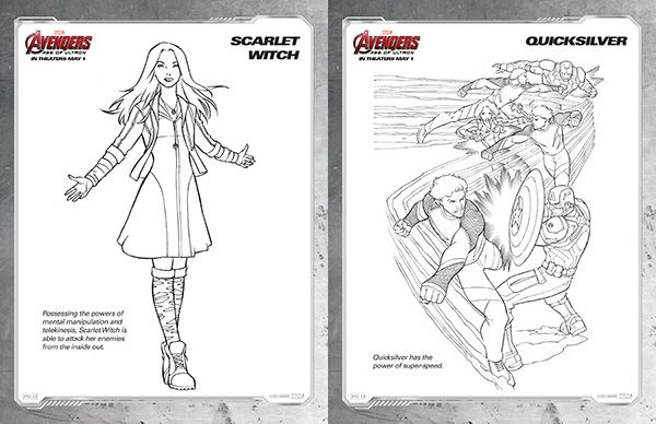 enchantress marvel coloring pages - photo#27