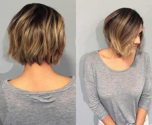 15+ En Capas Peinados Para Pelo Corto