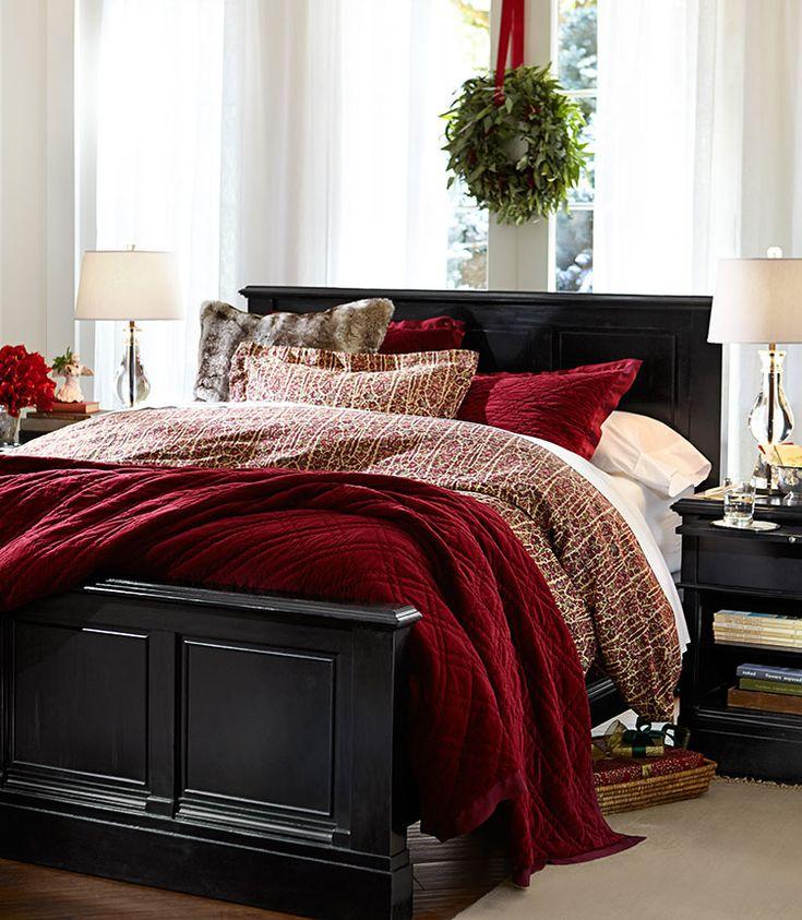 master bedroom decorating ideas christmas Best 25+ Christmas bedroom ideas on Pinterest | Christmas