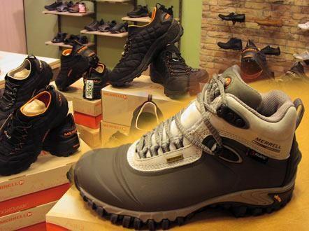 Зимняя спортивная обувь merrell