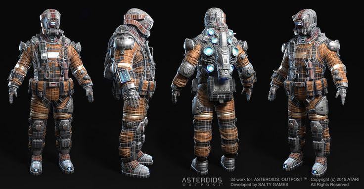 Space Miner. by Oleg Aleinikov