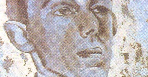 """Картинки по запросу ЛЕВ БРУНИ (1894–1948) Лев Бруни. Портрет О.Мандельштама. 1916. Так называемый """"голубой портрет"""" ; местонахождение неизвестно."""